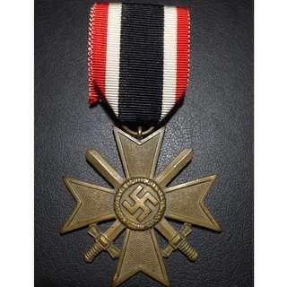 🚚 Nazi Germany War Merit Cross II Class With Swords - #20028