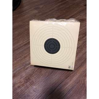 Air gun Target cards (for airgun)
