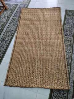 Sarawak Handwoven Rattan Mat (180x100cm)