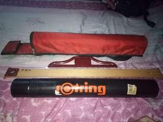 Rotring  T-Square,  Drawing Tube and Bag (Complete Set)