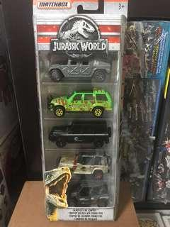 Matchbox Jurassic World / Park Legacy Vehicles Set