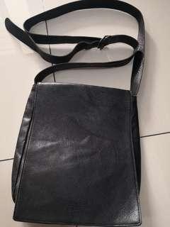 Full leather Jean paul gaultier sling bag