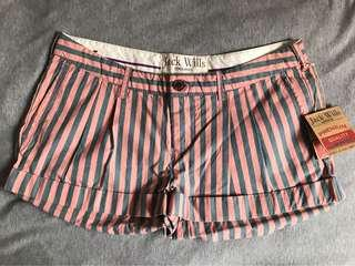 Jack Wills shorts 女裝短褲 in signature pink & navy stripes