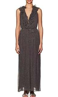 Zimmermann silk sleeveless polka dots jumpsuit