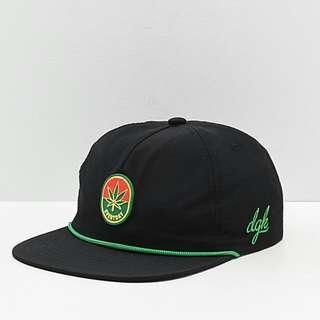 DGK Harvest Black & Green Snapback Hat