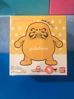 Bandai x Sanrio DARUMA CLUB 蛋黃哥gudetama達摩景品公仔