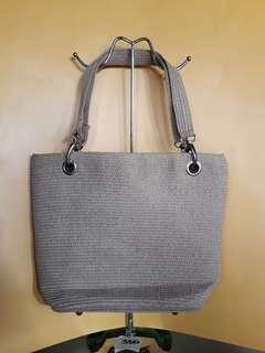 Native abaca handbag