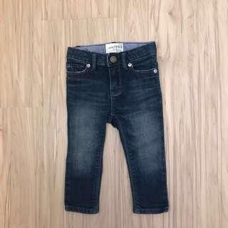 🚚 Baby Gap skinny牛仔褲 男女童皆可12-18m
