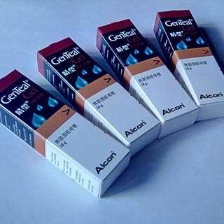 四支 Alcon® GenTeal® Gel Alcon®睛塋®潤眼啫喱 賣HK$50