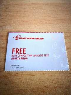 FREE FOC Healthcare Voucher
