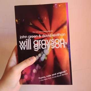 Preloved English Novel: Will Grayson, Will Grayson