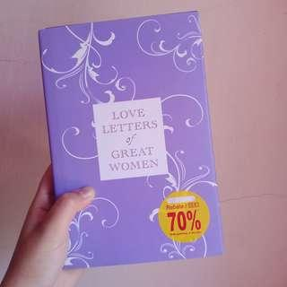 Preloved English Book: Love Letters of Great Women