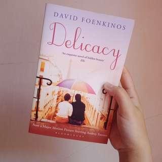 Preloved English Novel: Delicacy