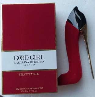 Goodgirl velvet patale