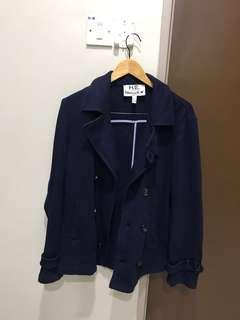 H.E. By Mango Jacket For Man (Navy blue)