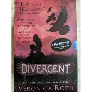 The Divergent Series trilogy (Veronica Roth)