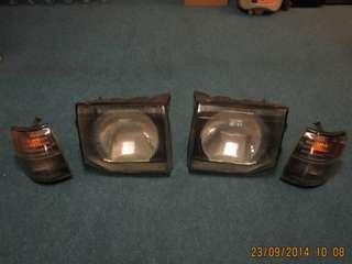 Head Light & Signal Mitsubishi Pajero V6