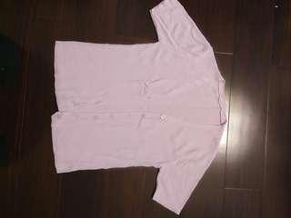 🚚 淺紫針織短外套