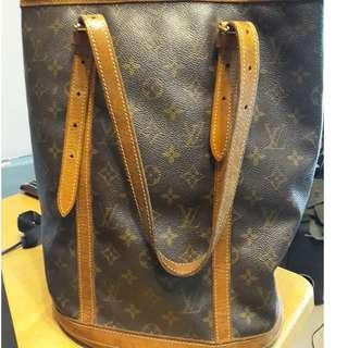 Louis Vuitton Bucket Bag (genuine, pre-loved)