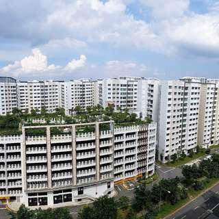 Whole Unit in Yishun For Rent. Bright and Breezy HDB 3-Room (2 Bedrooms)