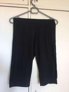 Black Adidas Capris