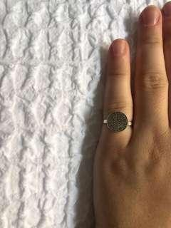 Sterling Silver Ancient Greek Design Ring