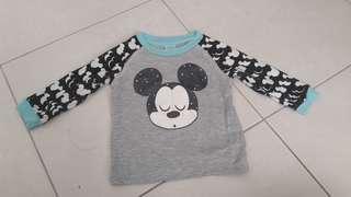 Mickey long sleeve shirt