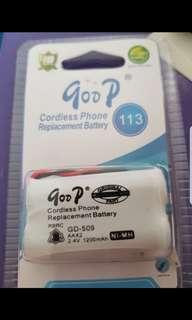 Cordless phone replacement battery
