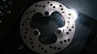 Sym 200 rear disc brake