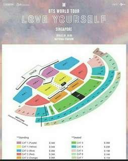 Lf/wtb love yourself in SG/bts ticket concert