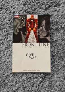 Marvel Comics Front Line