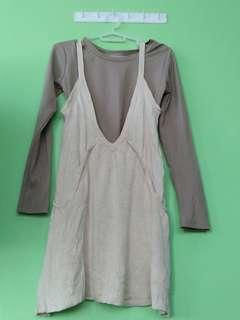 Korean Jumper Dress (Inner included)