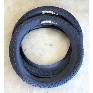 Fat Bike Tire 26X4.8 Lightweight Jaron Fat Bike Tyre $65/pc $130/pair Not Vee Tire Surly maxxis colossus Jumbo Jim