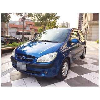 2007 現代/GET-Z 1.3 女用、一手車、天窗版、SAVE 認證、3500元 開回家~0989-884-500 阿榮