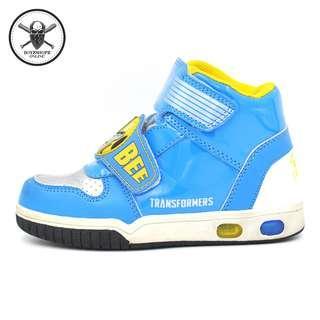 bfd9f0495e28e2 Kids Transformers Bumblebee Kids Shoes