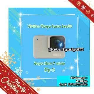 Gopro Hero 7 White, Kredit kamera murah tanpa CC cm 3menit diMacronic aja