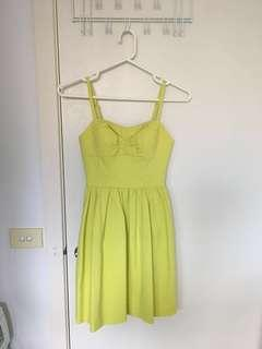 Marcs summer dress green lime