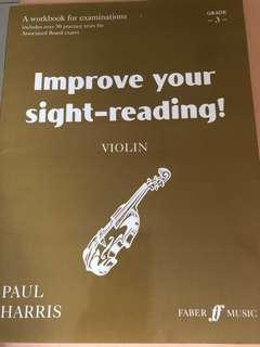 Grade 3 violin book