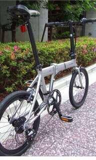 Foldable bicycle Dahon horize