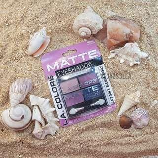 L.A. Colors Matte Eyeshadow Quad Palette (BES552 Mattenificient)