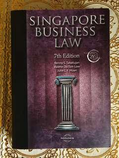 Singapore Business Law Textbook (BUS201/BUS205)