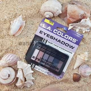 L.A. Colors Eyeshadow Palette (CBES542 Peace)
