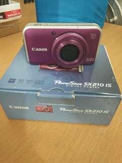 Camera Canon Power Shot SX210 IS