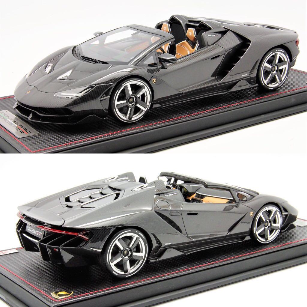 1 18 Mr Lamborghini Centenario Roadster Full Carbon Body Toys