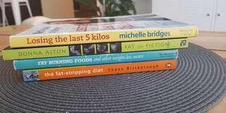 4 x diet books