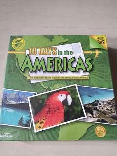 Board Game 10 Days in the Amercias