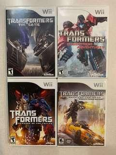 Wii Transformers Games