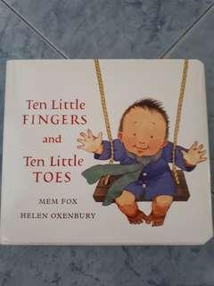 Ten Little Fingers and Ten Little Toes by Mem Fox & Helen Oxenbury