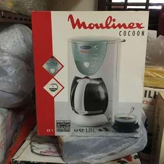 Moulinex cocoon coffee maker