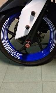 Yamaha Arrow Rim Decal
